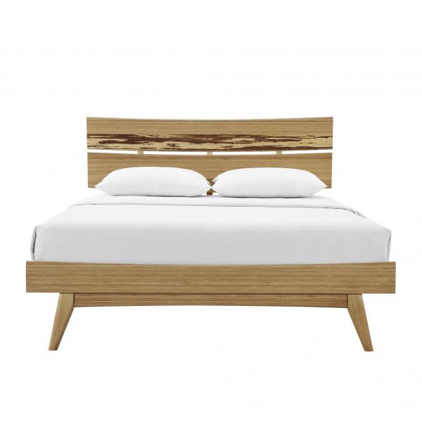 Greenington Azara Bed in Caramel, Front