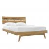 Greenington Azara Bed in Caramel on Angle