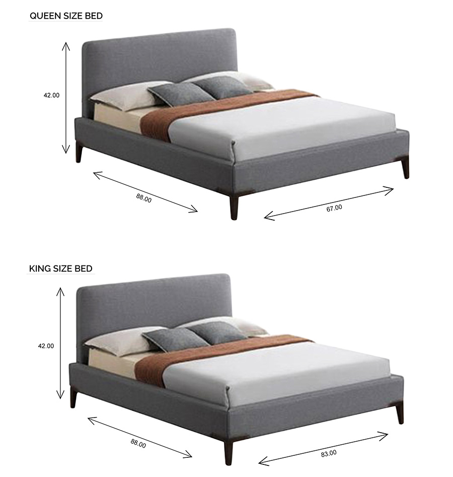 Alice Bed with Dimensions