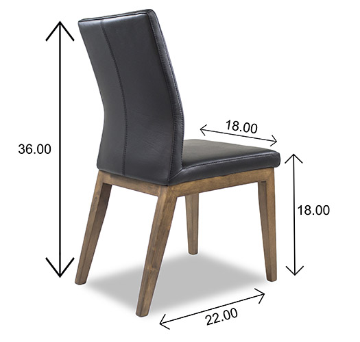 Lena Dining Chair Dimensions