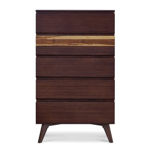 Greenington Azara High Chest in Sable Colour