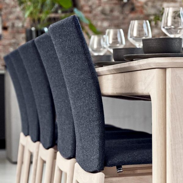 Skovby SM63 Dining Chairs in a row
