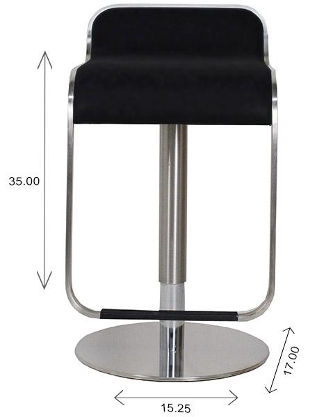 Grayson Bar Stool Dimensions