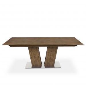 Skovby SM39 Dining Table on Straight in Oiled Walnut