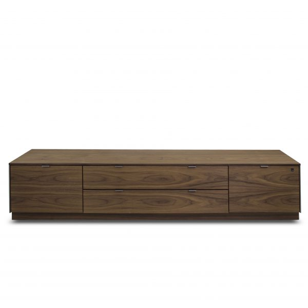 Skovby SM941 TV Unit in Oiled Walnut, Front