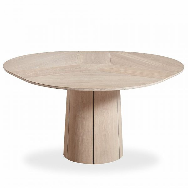 Skovby SM33 Dining Table in Oak, Extended