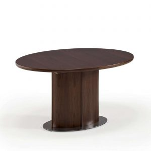 Skovby SM72 Dining Table in Walnut, Closed