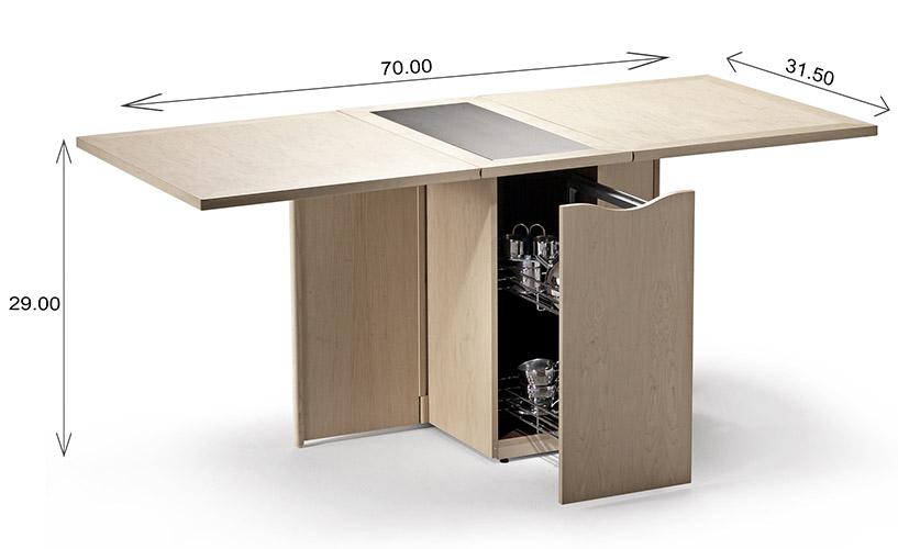Skovby SM101 Dining Table Dimensions