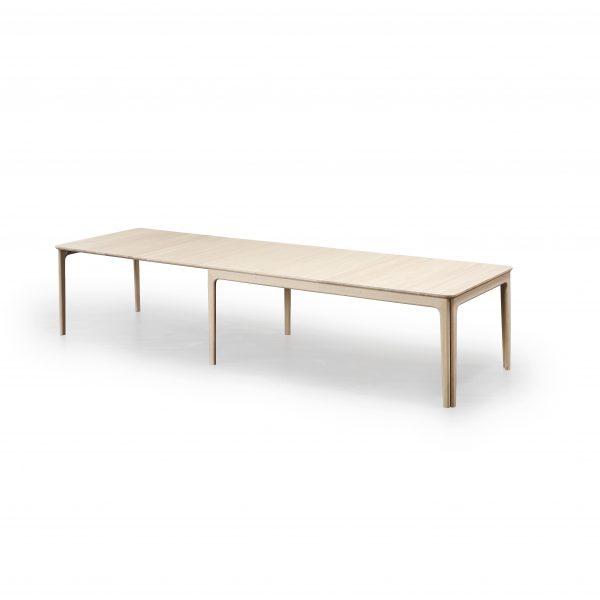 Skovby SM26 Dining Table in White Oak , Extended