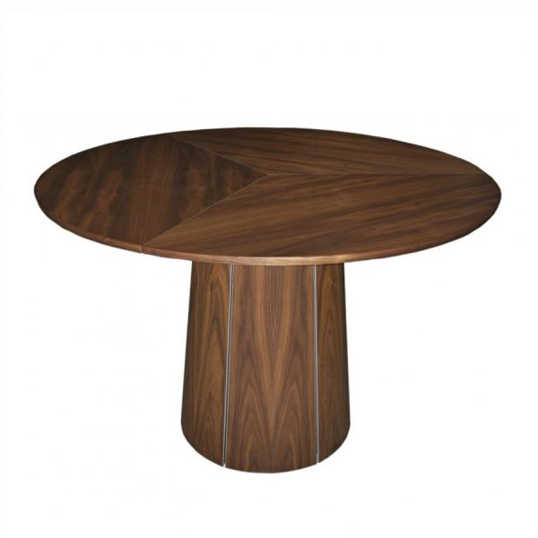 Skovby SM33 Dining Table in Oiled Walnut, Closed