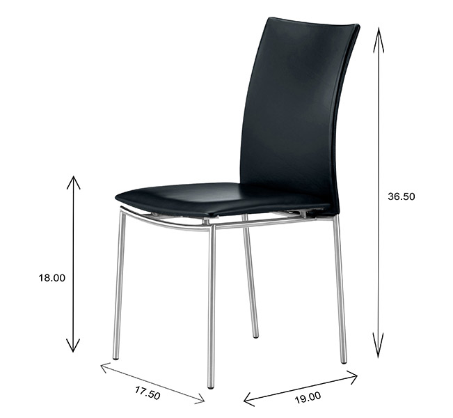 Skovby SM58 Dining Chair Dimensions