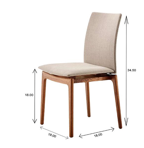 Skovby SM63 Dining Chair DImensions