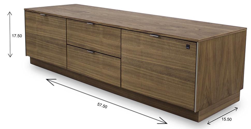 Skovby SM931 TV Unit Dimensions