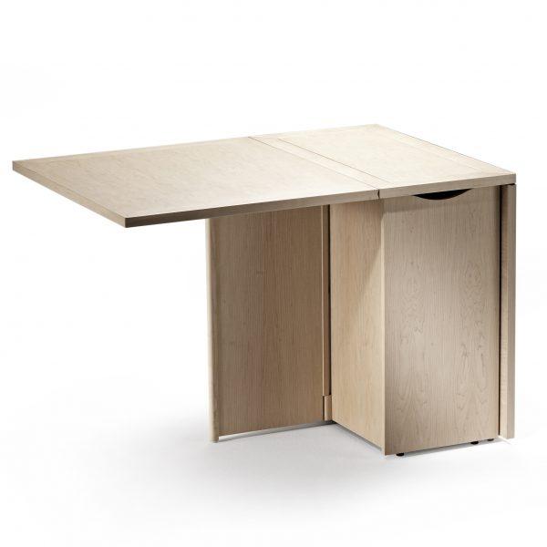 Skovby SM101 Dining Table in Oak, Open on one side