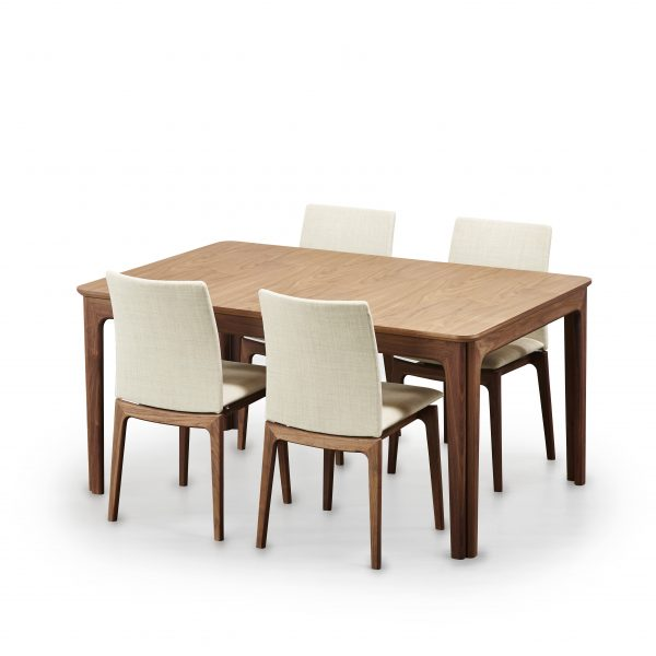 Skovby SM26 Dining Table, SM63 Chairs around table