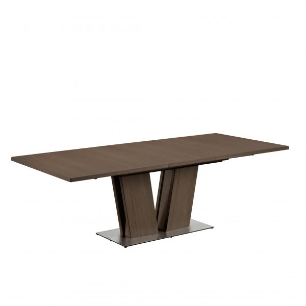 Skovby SM37 Dining Table Extended, Walnut