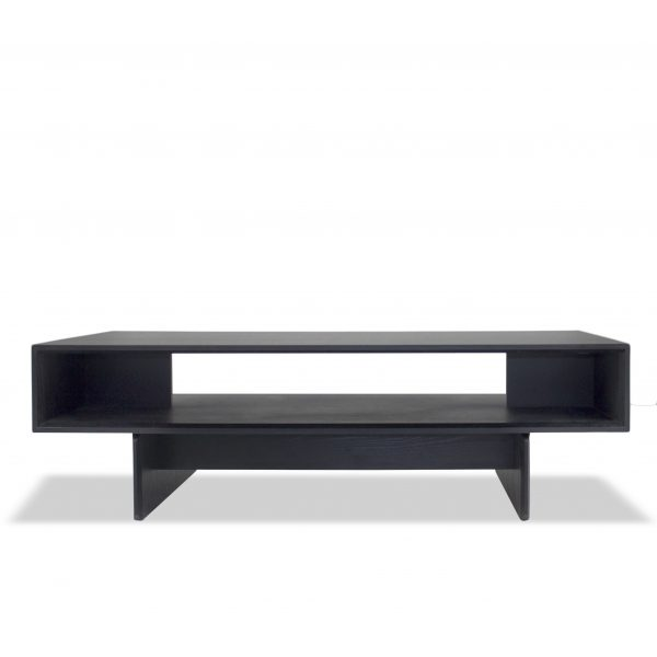 Tampa Coffee Table in Wenge, Straight