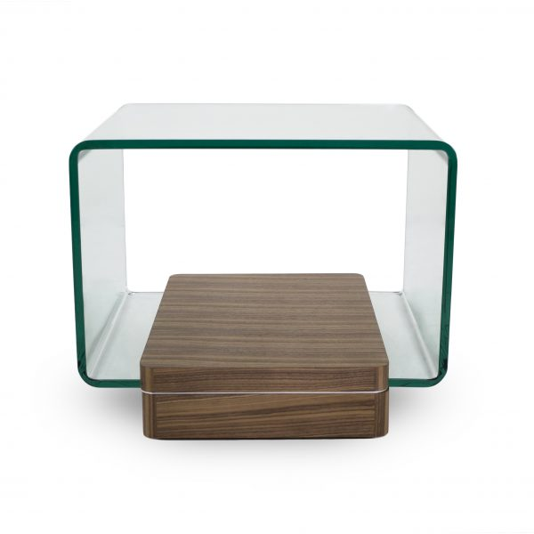 Lepage End Table in Walnut