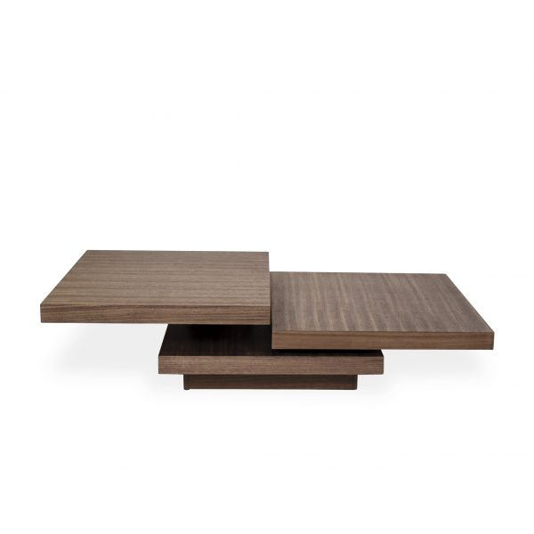 Camosun Coffee Table in Walnut, Open