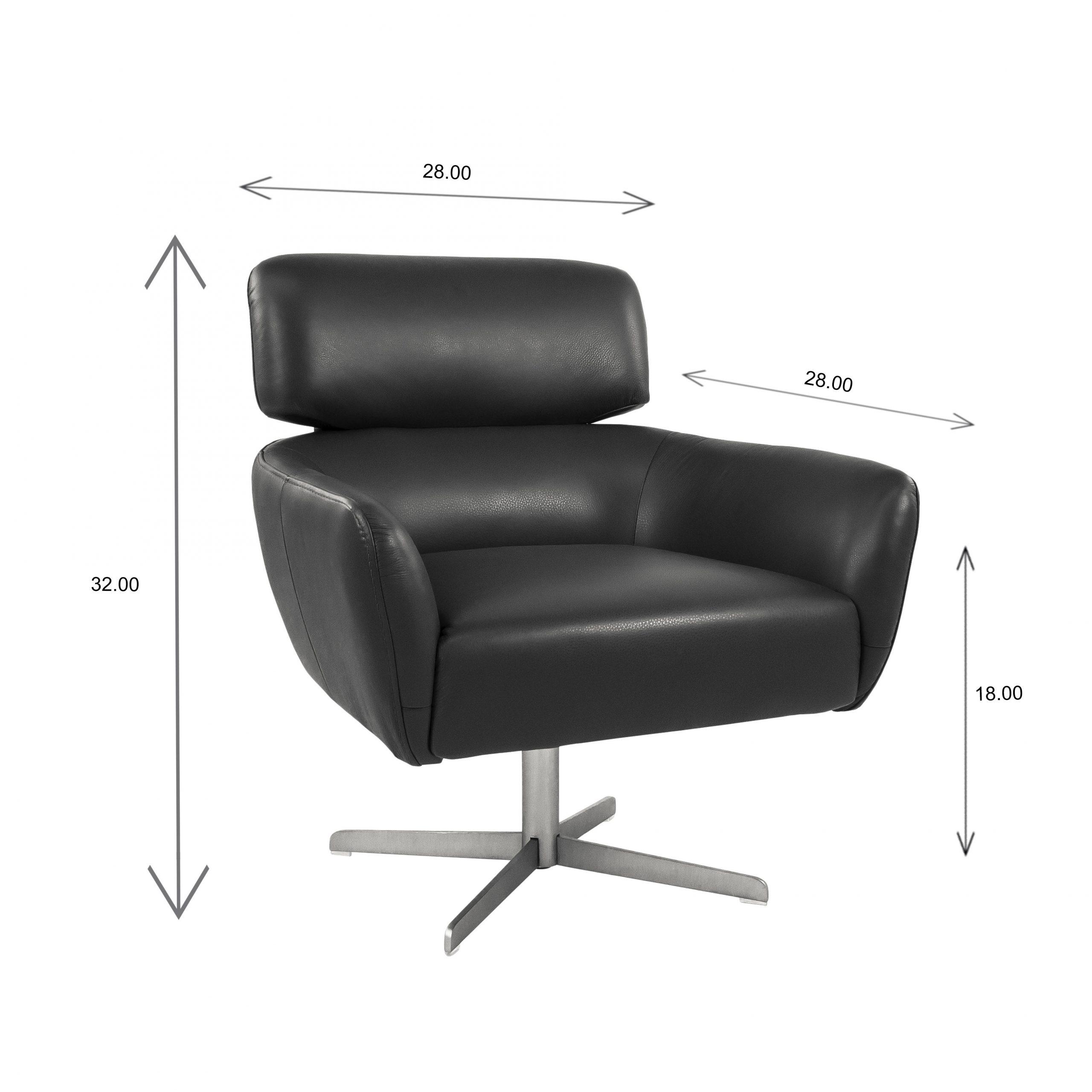 Haley Chair Dimensions