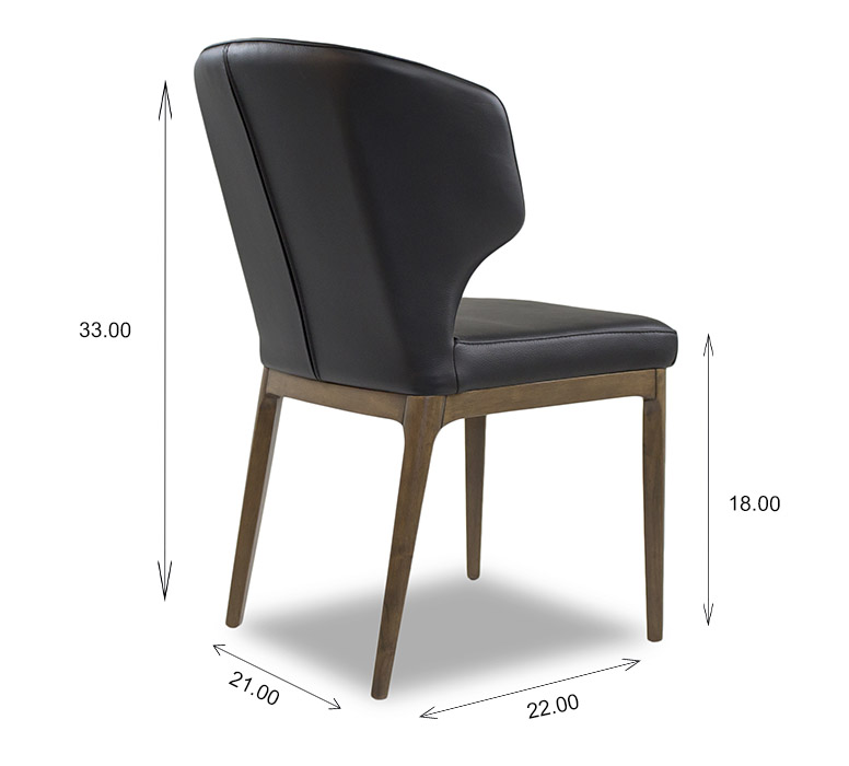 Blake Dining Chair Dimensions