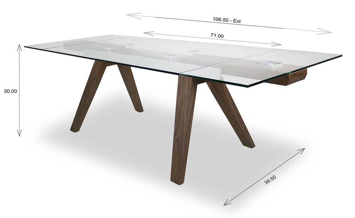 Elliot Dining Table Dimensions