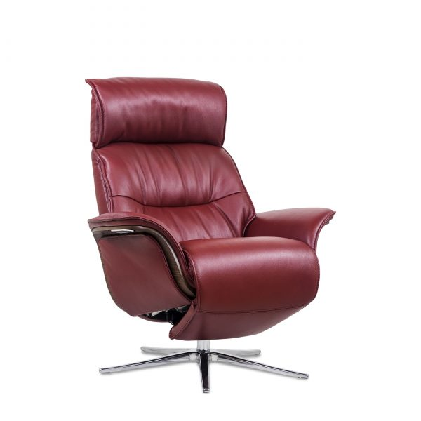 IMG Space SPM5300 in Ruby Leather, Angle
