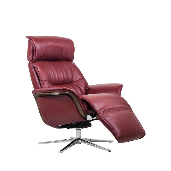 IMG Space SPM5300 in Ruby Leather, Recline