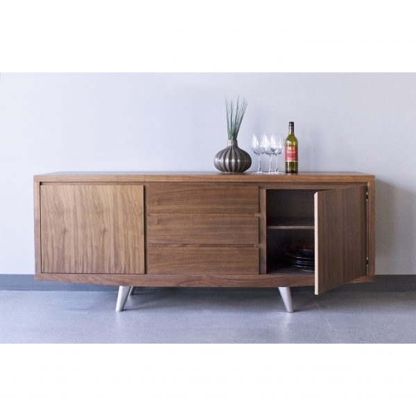 Leon Sideboard in Walnut on Display