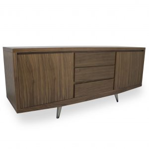 Leon Sideboard in Walnut, Angle