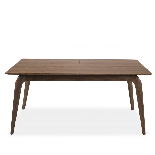 Margo Dining Table in Walnut, Straight