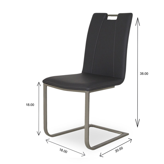 Marta Dining Chair Dimensions