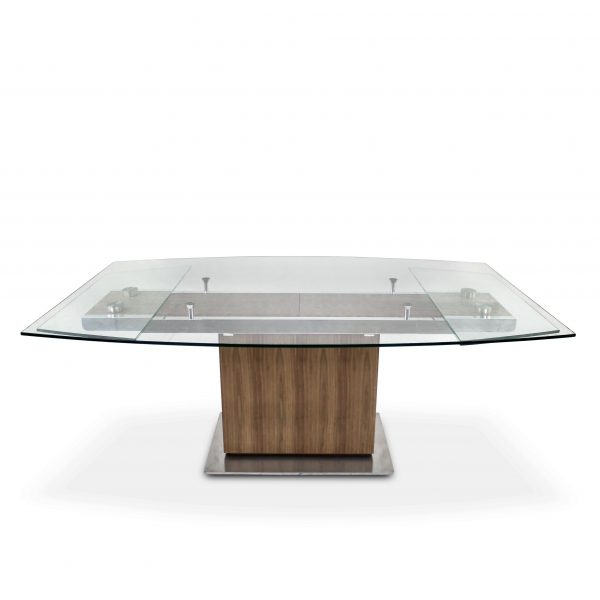 Mercurio Dining Table in Walnut, Straight