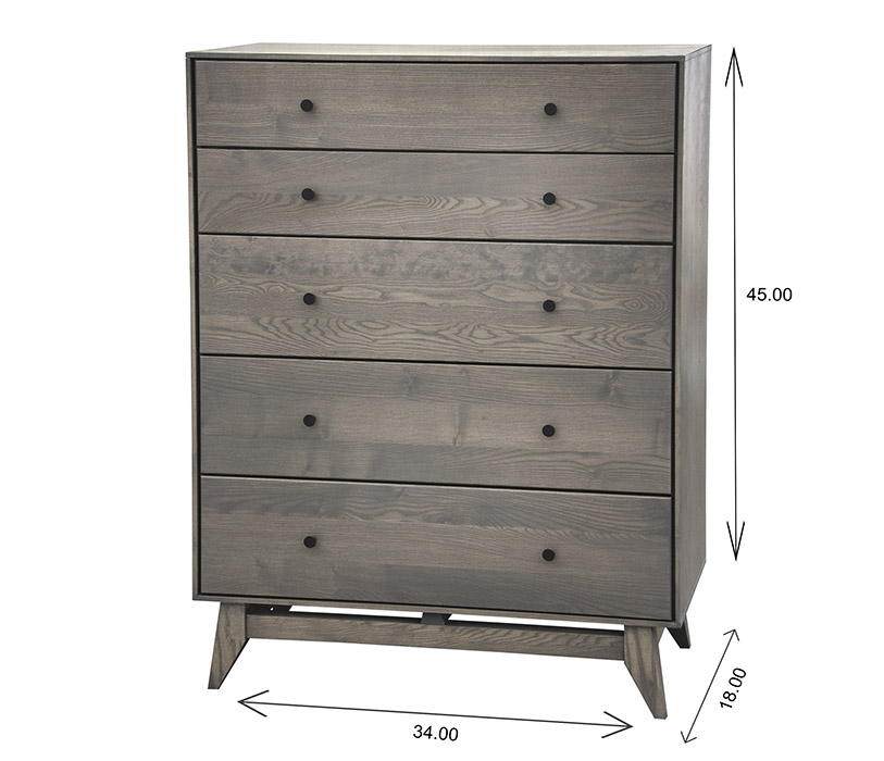 Wood Castle Montano Chest Dimensions