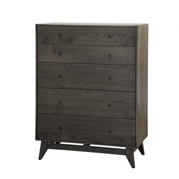 Wood Castle Montano Chest in Obsidian Stain