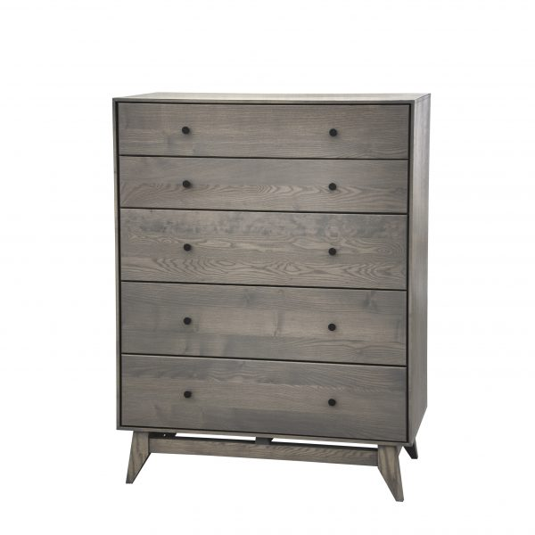 Wood Castle Montano Chest in Slate Stain