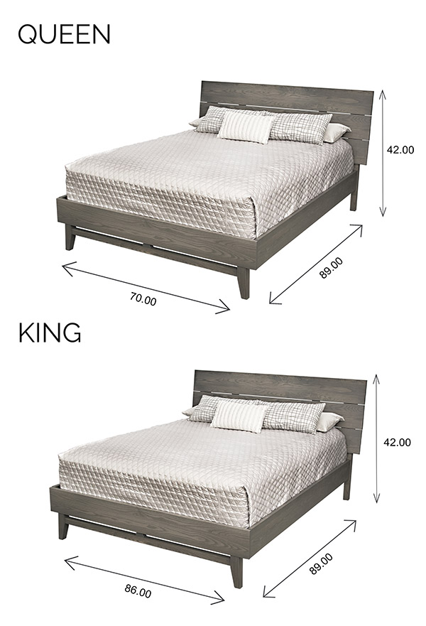 Wood Castle Montano Bed Dimensions