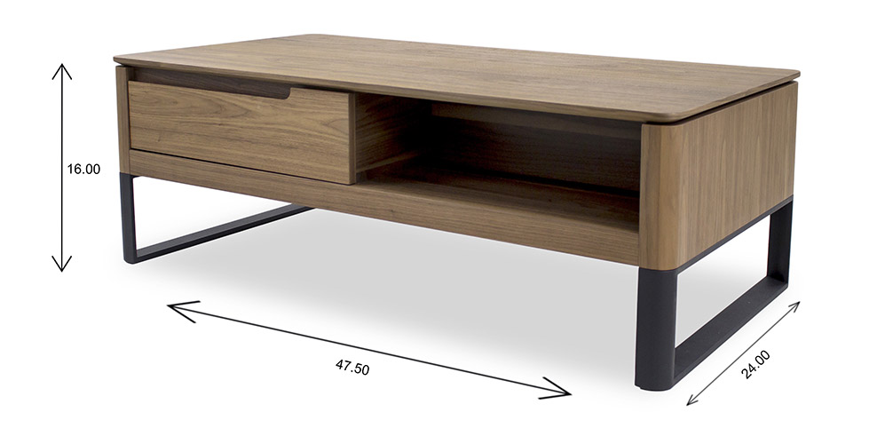 Olympia Coffee Table Dimensions
