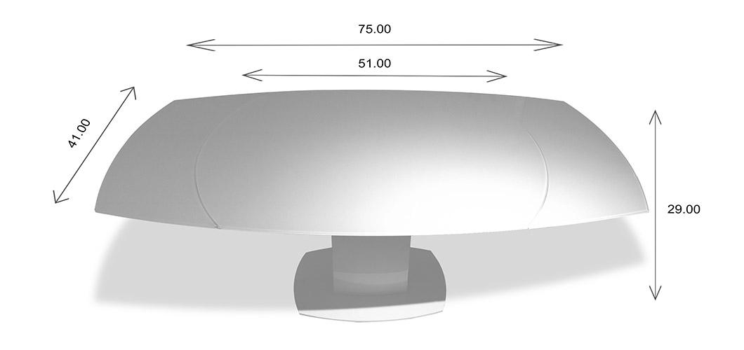 Paul Table Dimensions