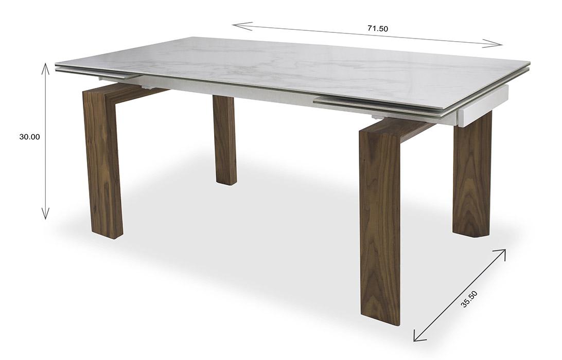 Potrero Dining Table Dimensions