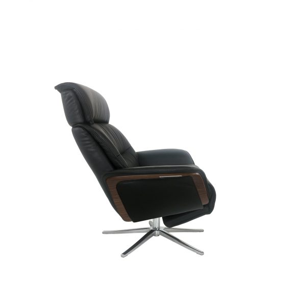 IMG Space SPM5300 Recliner in Trend Tuxedo, Side Profile