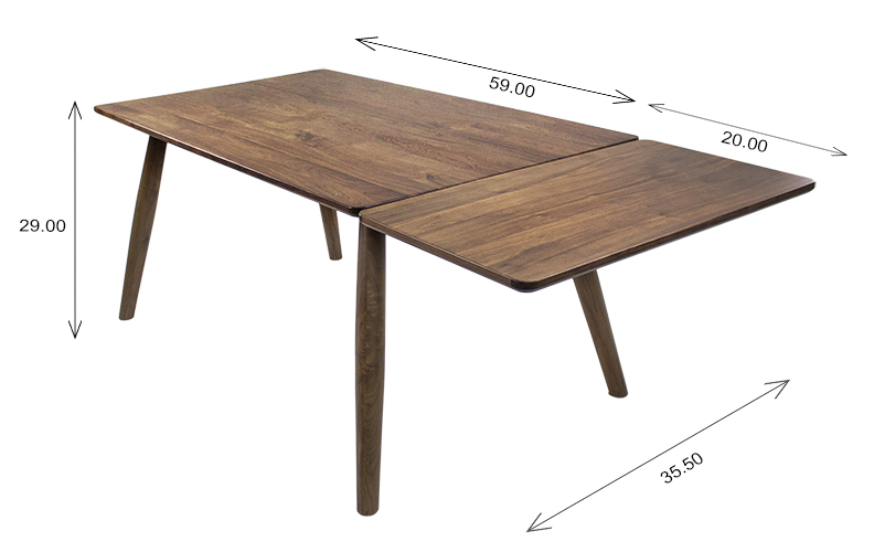 Tahoe Dining Table Dimensions