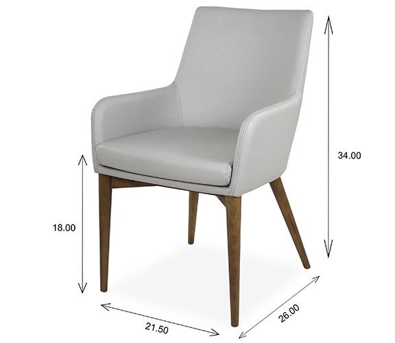 Vista Armchair Dimensions