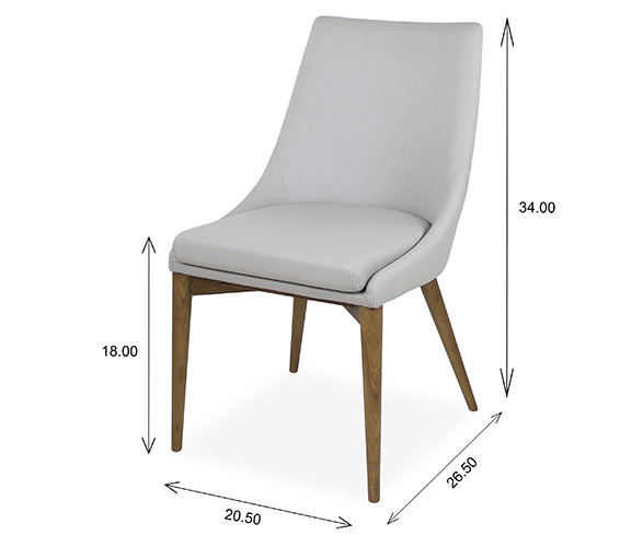 Vista Dining Chair Dimensions