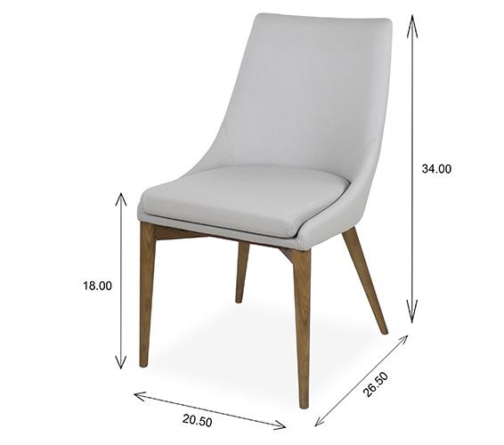 Vista Dining Chair Dimensions