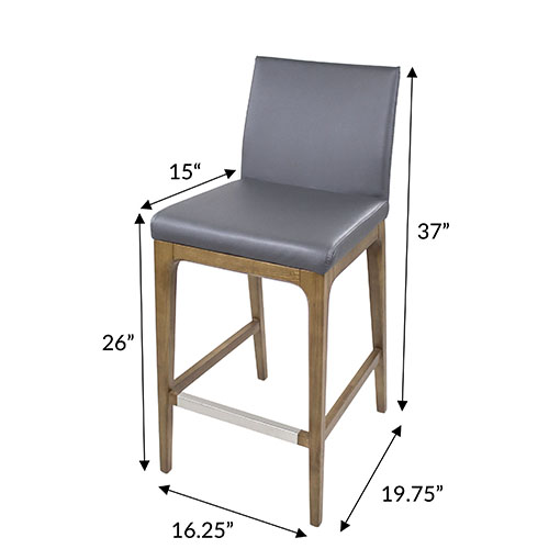 Dexter Counter Stool Dimensions