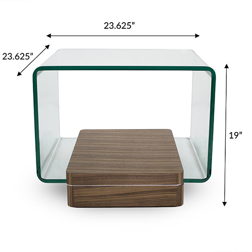 Lepage End Table Dimensions