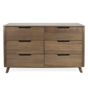 Tahoe Double Dresser in Walnut, Front
