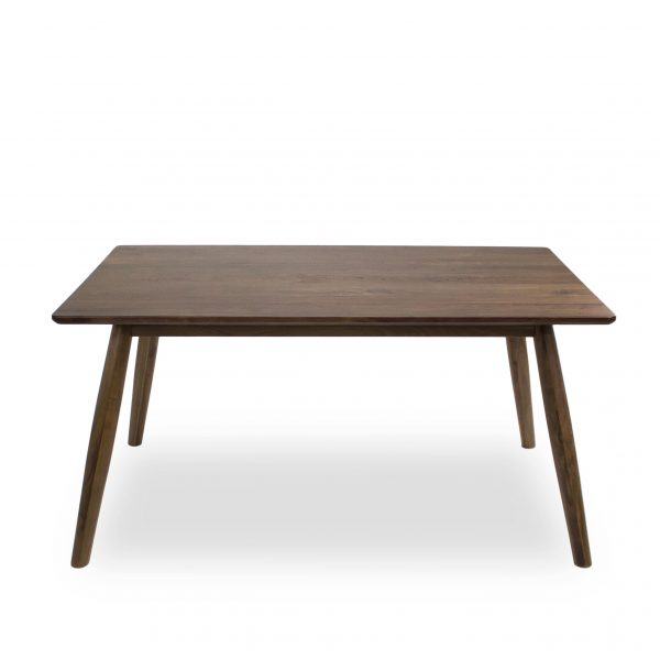 Tahoe Dining Table in Walnut, Straight