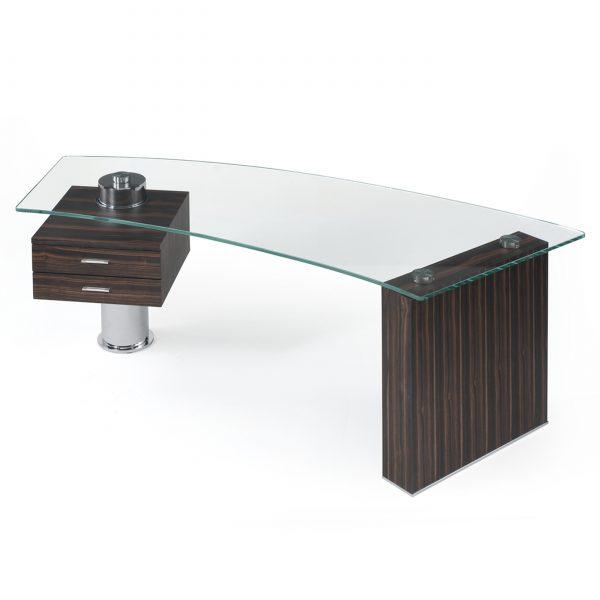 Trapeze Desk Front